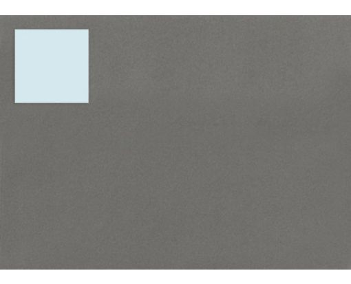 1.5 x 1.5 Square Labels, 35 Per Sheet Pastel Blue