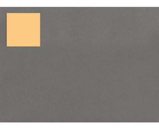 1.5 x 1.5 Square Labels, 35 Per Sheet Pastel Orange