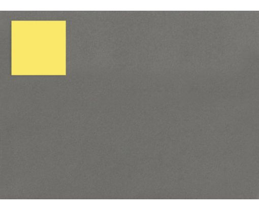 1.5 x 1.5 Square Labels, 35 Per Sheet Pastel Yellow