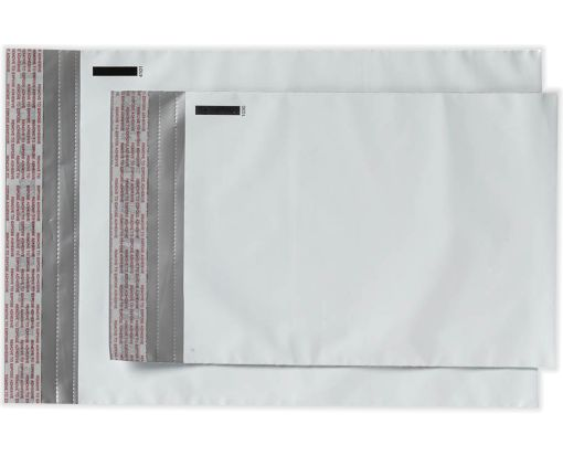 12 x 15 1/2 Poly Mailers White Poly