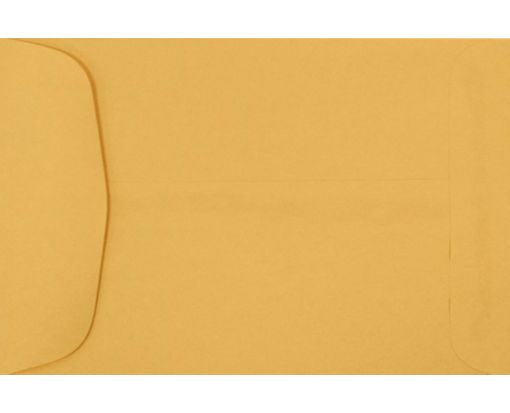 4 5/8 x 6 3/4 Open End Envelopes 24lb. Brown Kraft