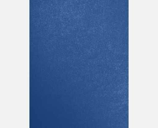 8 1/2 x 11 Cardstock Blue Angel Metallic
