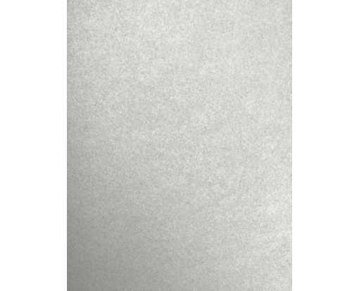 8 1/2 x 11 Cardstock White Lady Metallic