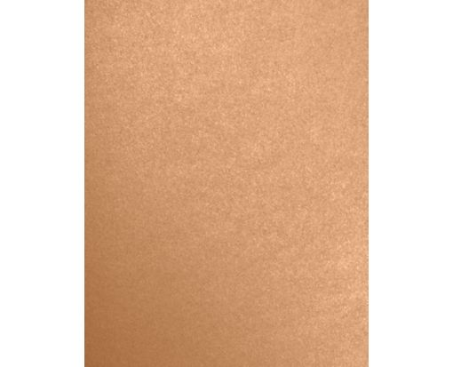 8 1/2 x 11 Cardstock Copper Metallic