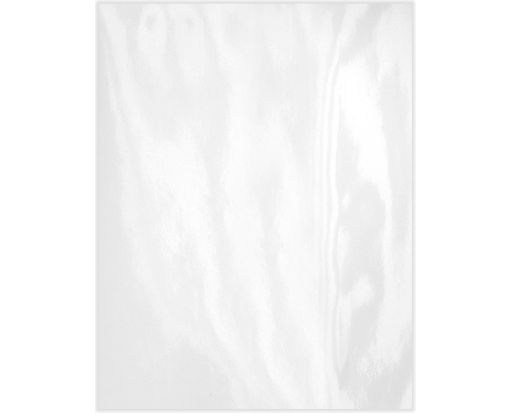 8 1/2 x 11 Cardstock Glossy White
