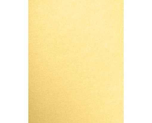 8 1/2 x 11 Cardstock Gold Metallic