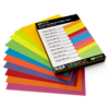 8 1/2 x 11 Cardstock - Brights Pack of 100 Bright Variety Assorted