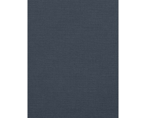 8 1/2 x 11 Cardstock Nautical Blue Linen