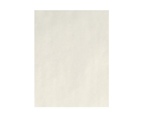 8 1/2 x 11 Cardstock - 100% Cotton Natural White - 100% Cotton