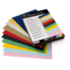 8 1/2 x 11 Cardstock - Variety Pack of 100 Cardstock Variety Assorted