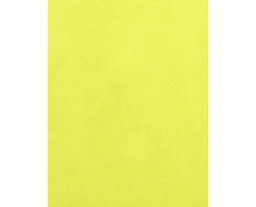 8 1/2 x 11 Paper Chartreuse Translucent
