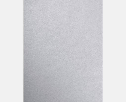 8 1/2 x 11 Silver Metallic Paper | 80lb. | Stationery ...