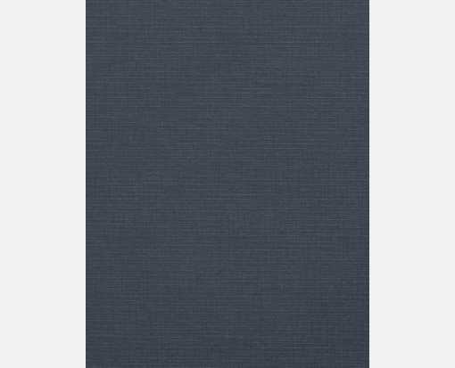 8 1/2 x 11 Paper Nautical Blue Linen