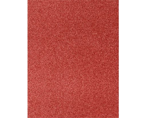 8 1/2 x 11 Paper Holiday Red Sparkle