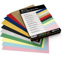 8 1/2 x 11 Paper - Variety Pack of 100