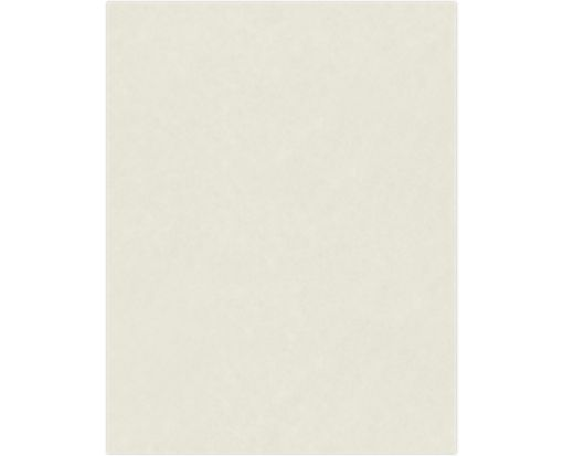 8 1/2 x 11 Cardstock 184lb. Natural White - 100% Cotton
