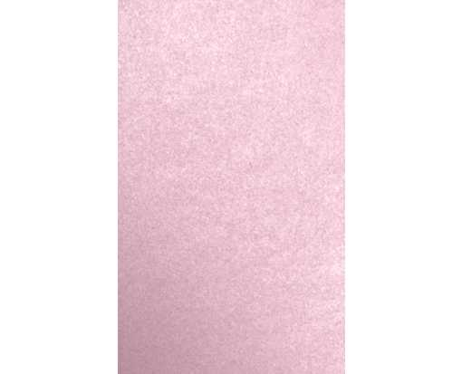 8 1/2 x 14 Cardstock Rose Quartz Metallic