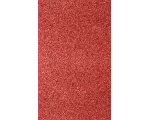 8 1/2 x 14 Paper Holiday Red Sparkle
