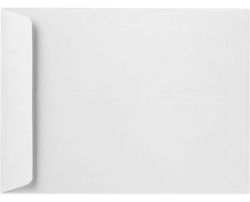 9 x 12 Open End Envelopes 24lb. Bright White