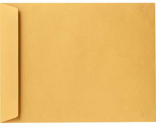 6 1/2 x 9 1/2 Open End Envelopes 28lb. Brown Kraft