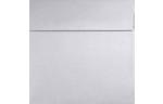 3 1/4 x 3 1/4 Square Envelopes Silver Metallic