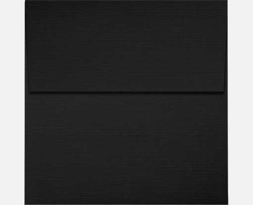 3 1/4 x 3 1/4 Square Envelopes Black Linen
