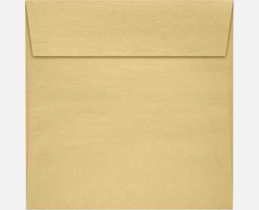 3 1/4 x 3 1/4 Square Envelopes Blonde Metallic