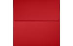 4 x 4 Square Envelopes Ruby Red