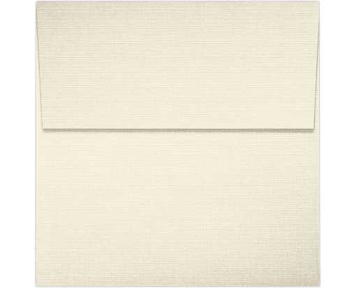 4 x 4 Square Envelopes Natural Linen
