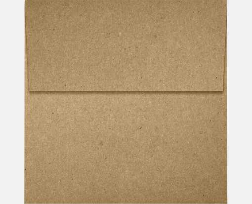4 x 4 Square Envelopes Grocery Bag