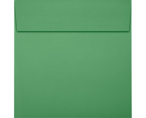 5 x 5 Square Envelopes Holiday Green