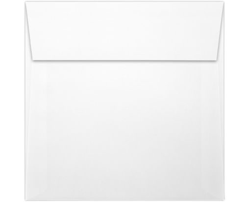 5 x 5 Square Envelopes White Linen