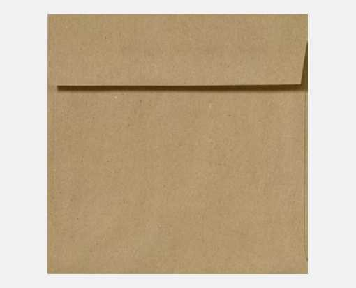 5 1/4 x 5 1/4 Square Envelopes Grocery Bag