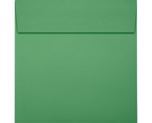 5 1/2 x 5 1/2 Square Envelopes Holiday Green