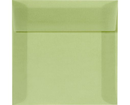 5 1/2 x 5 1/2 Square Envelopes Leaf Translucent