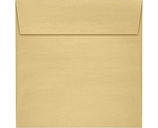 5 1/2 x 5 1/2 Square Envelopes Blonde Metallic