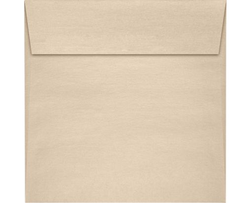 5 1/2 x 5 1/2 Square Envelopes Taupe Metallic