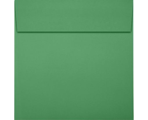 6 x 6 Square Envelopes Holiday Green
