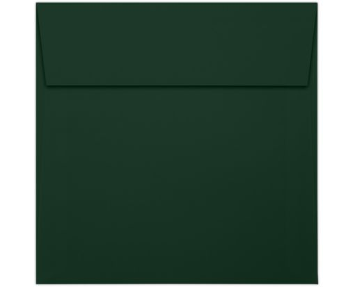 6 x 6 Square Envelopes Green Linen