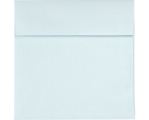 6 1/2 x 6 1/2 Square Envelopes Aquamarine Metallic