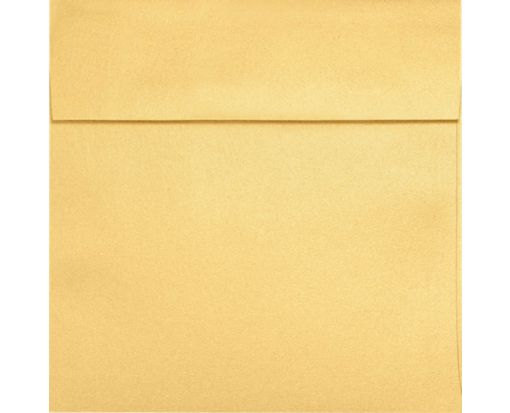 6 1/2 x 6 1/2 Square Envelopes Gold Metallic