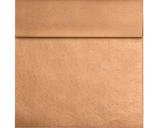 6 1/2 x 6 1/2 Square Envelopes Copper Metallic