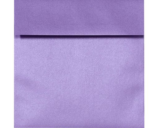 6 1/2 x 6 1/2 Square Envelopes Amethyst Metallic