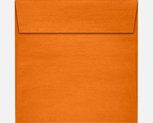 6 1/2 x 6 1/2 Square Envelopes Flame Metallic