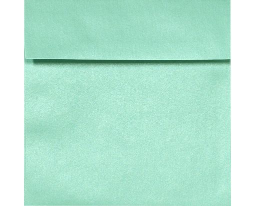 6 1/2 x 6 1/2 Square Envelopes Lagoon Metallic