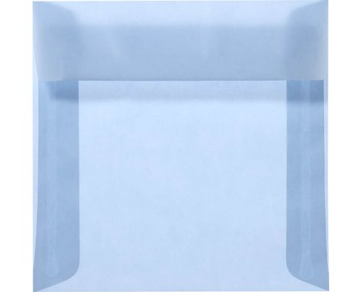 6 1/2 x 6 1/2 Square Envelopes Surf Translucent