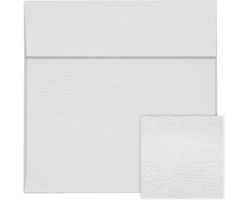 6 1/2 x 6 1/2 Square Envelopes White Birch Woodgrain