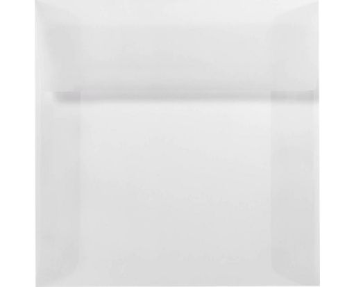 7 x 7 Square Envelopes Clear Translucent
