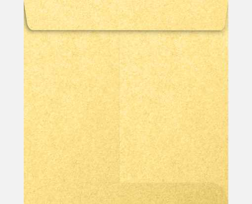 7 1/2 x 7 1/2 Square Envelopes Gold Metallic