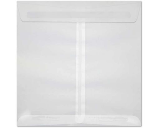 8 x 8 Square Envelopes Clear Translucent